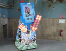 Ben & Jerry's Givolution machine