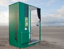Greenpeace interactive photo booths