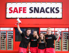 Stop Aids Now! – Safe Snacks campaign