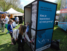 Upact Timeline Movement Booth